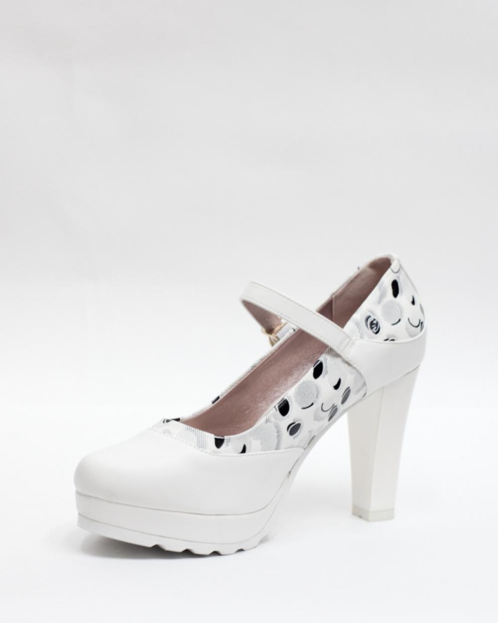 Туфли в горошек 10