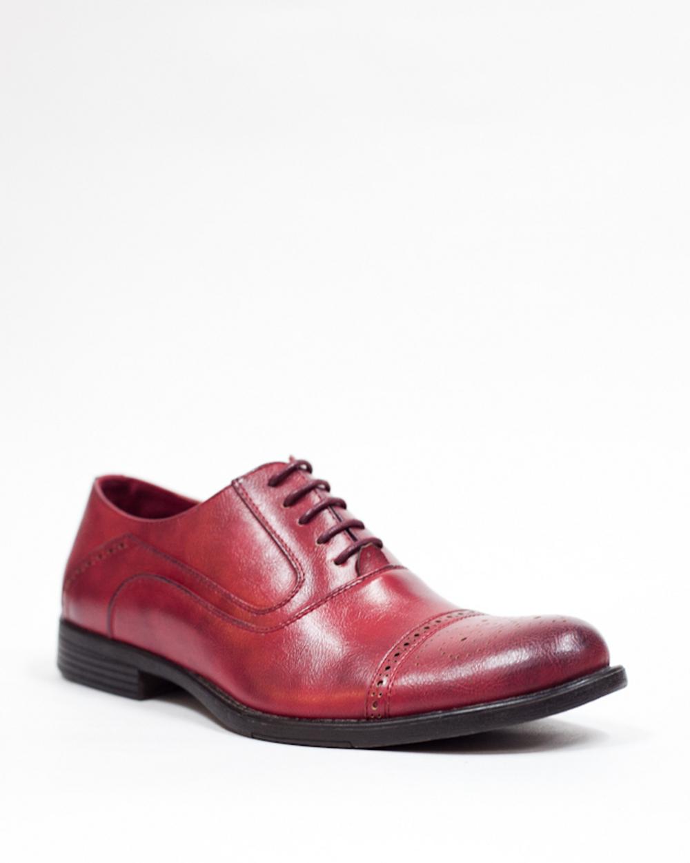 Мужские красные ботинки
