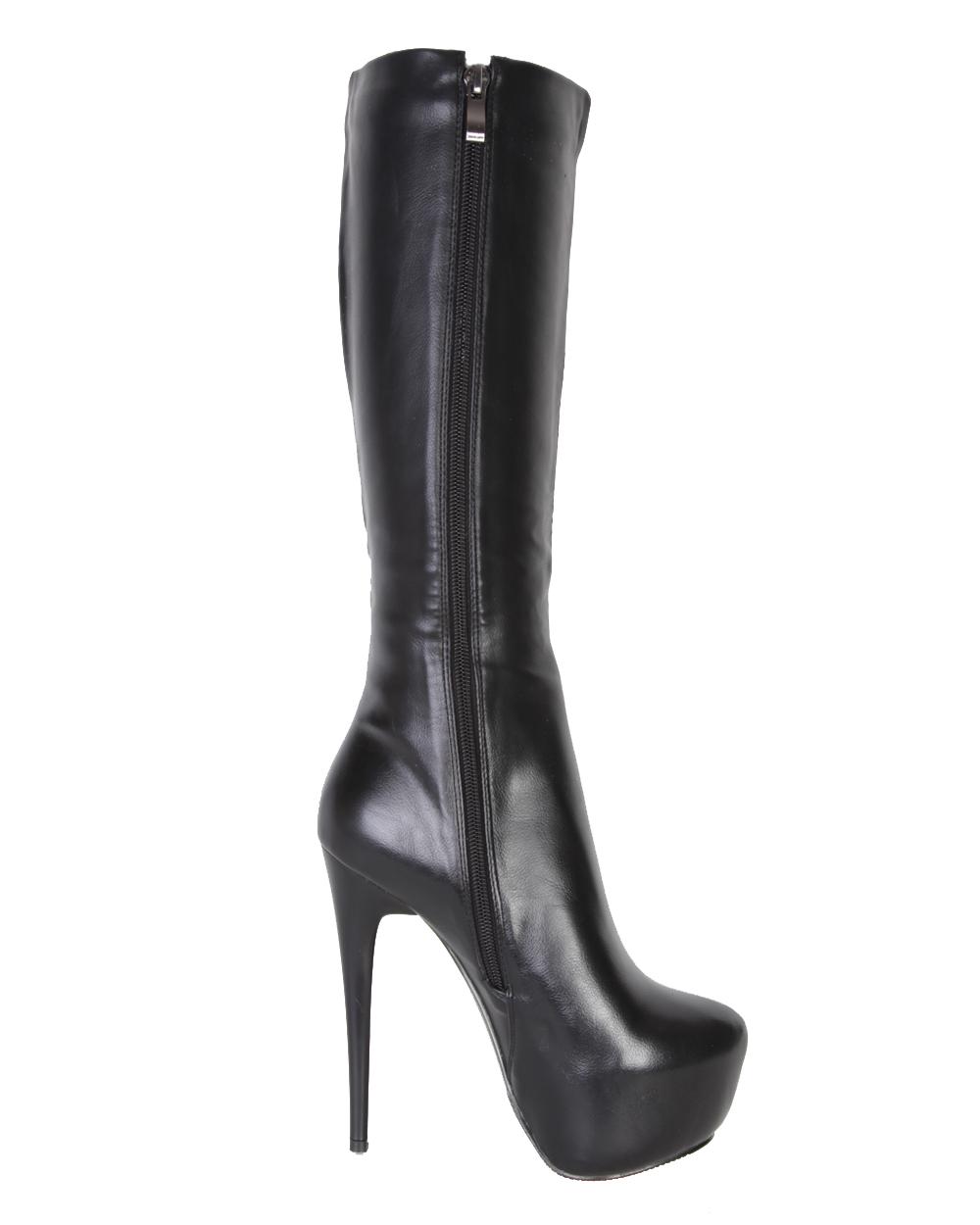 Женская сапоги на проблемные ноги