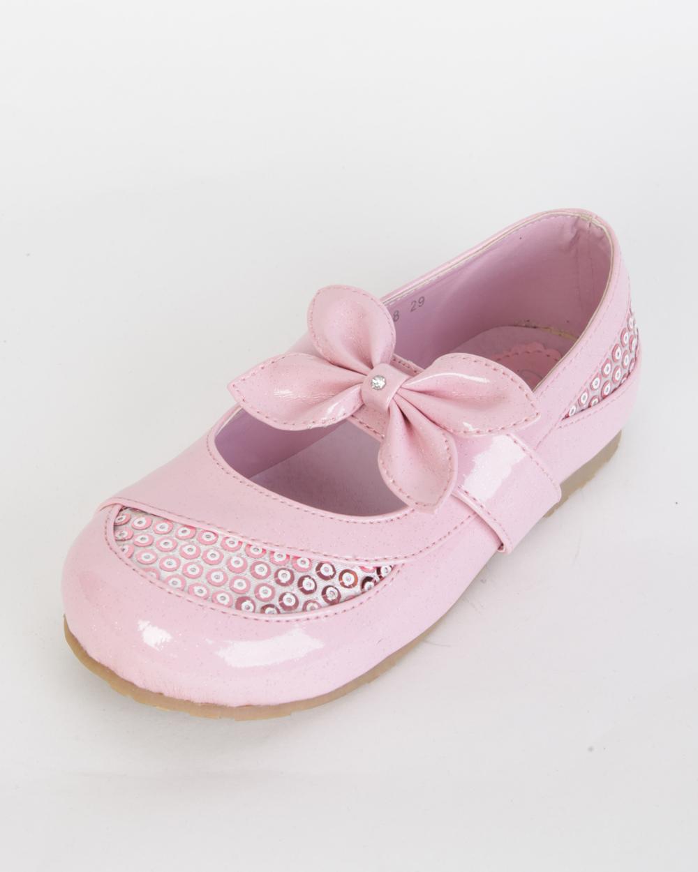 Розовые кроссовки лакированные