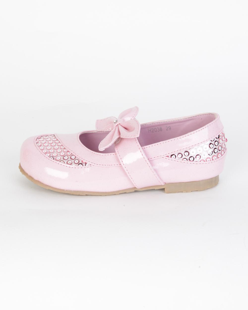 Туфли розовые лаковые
