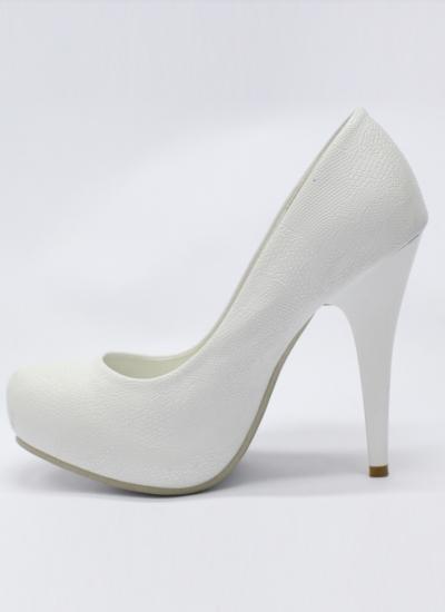 Белые туфли на шпильке 3